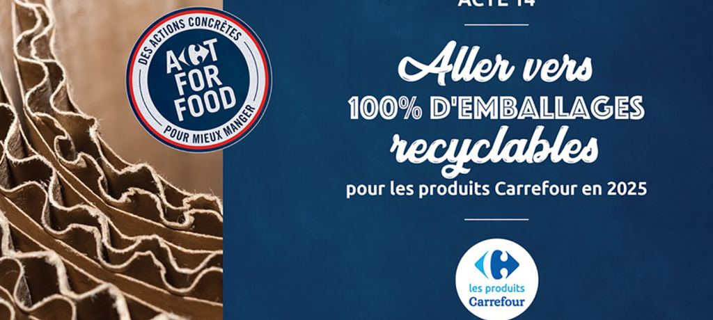 Acte 14 : Vers 100% d'emballages recyclables