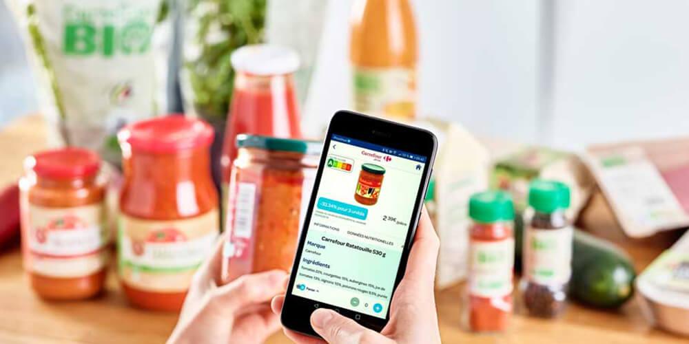Le Nutri-Score des produits Carrefour est sur l\'App | Carrefour
