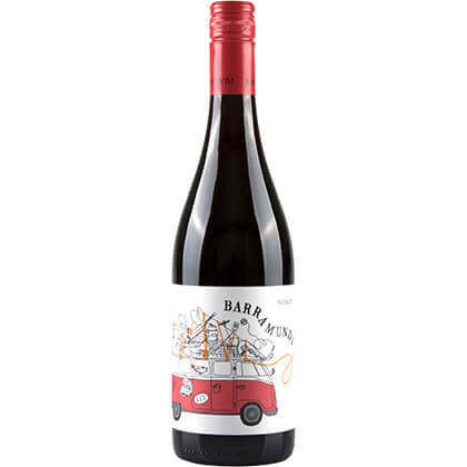 Australië Murray-Darling Region Barramundi Shiraz 75 cl