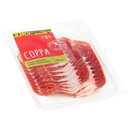 Carrefour Coppa Fines Tranches 100 gr