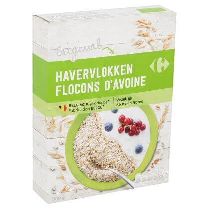 Carrefour Original Havervlokken 800 g