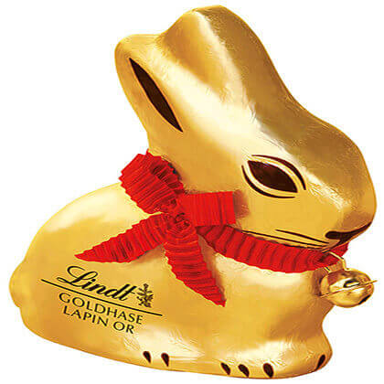 Lindt lapin d'or 0.1 KG