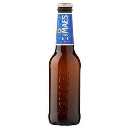 Maes Pils Plus de Malt 25 cl