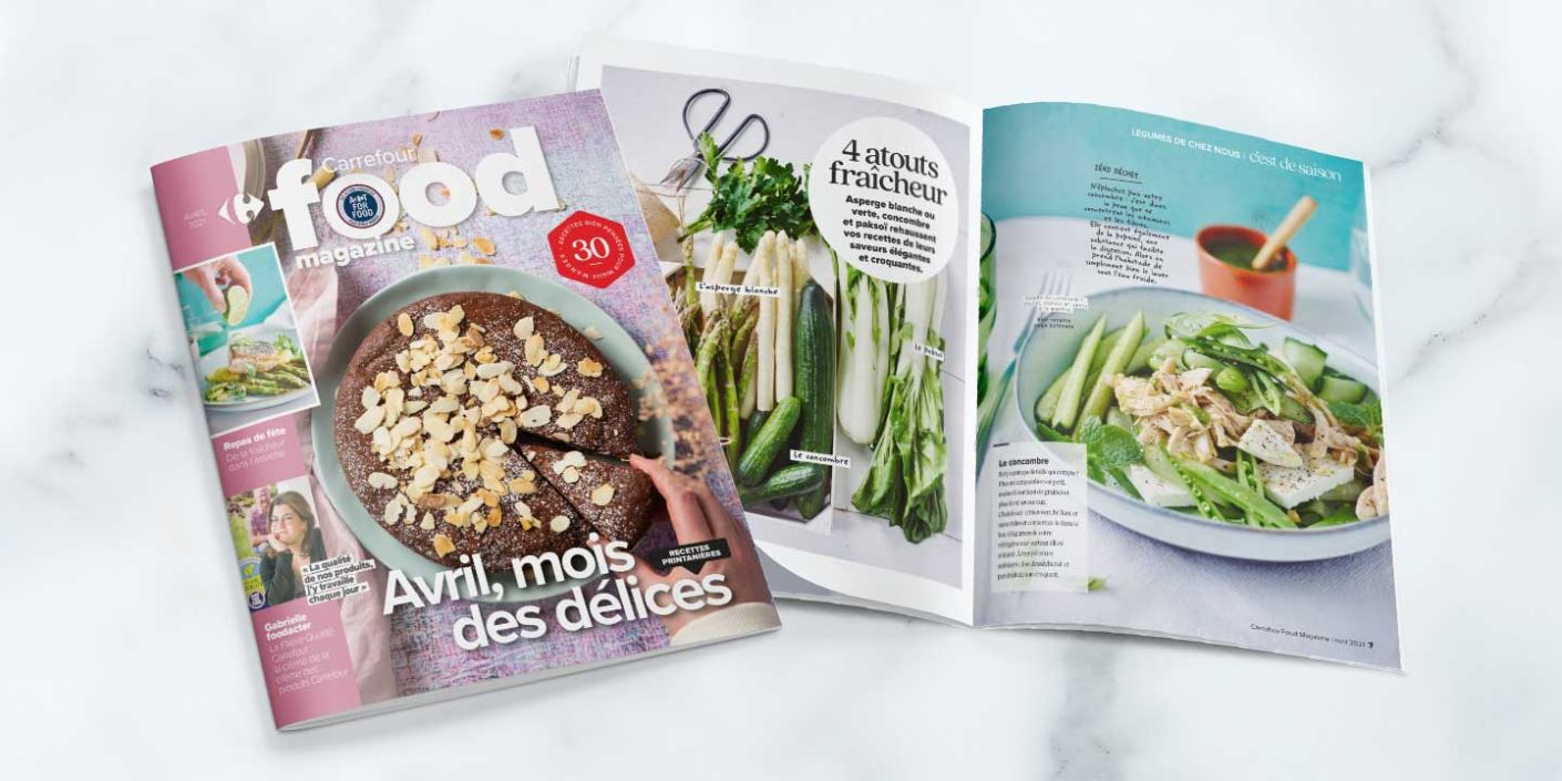 Carrefour Food Magazine Avril 2021