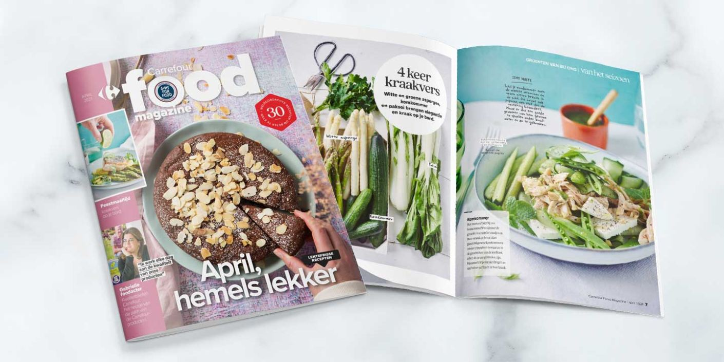 Carrefour Food Magazine April 2021