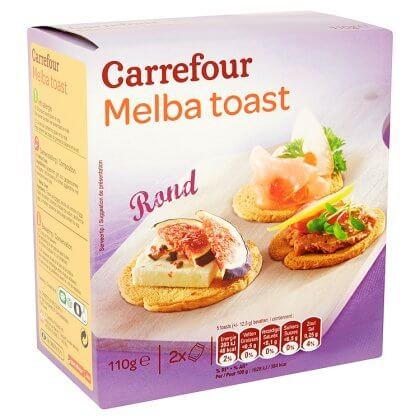 Carrefour Melba Toast Rond