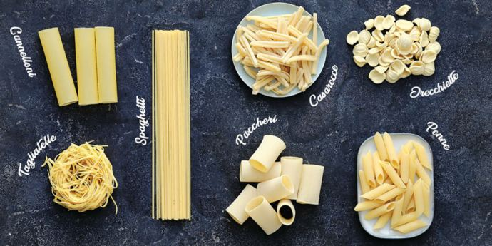 Pasta 'in the picture""