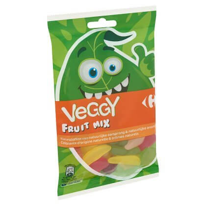Carrefour Veggy Fruit Mix 150 g