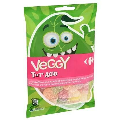 Carrefour Veggy Tut' Acid 150 g