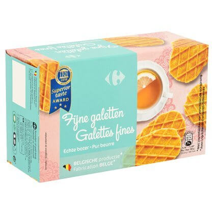 Galettes Fines Pur Beurre Carrefour 250 g