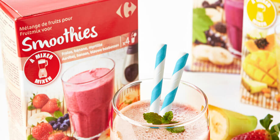 Fruitmix voor smoothies