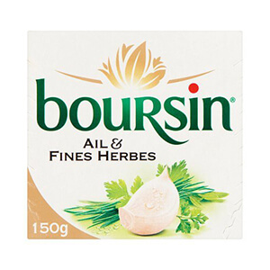 Boursin Ail & Fines Herbes 150 g
