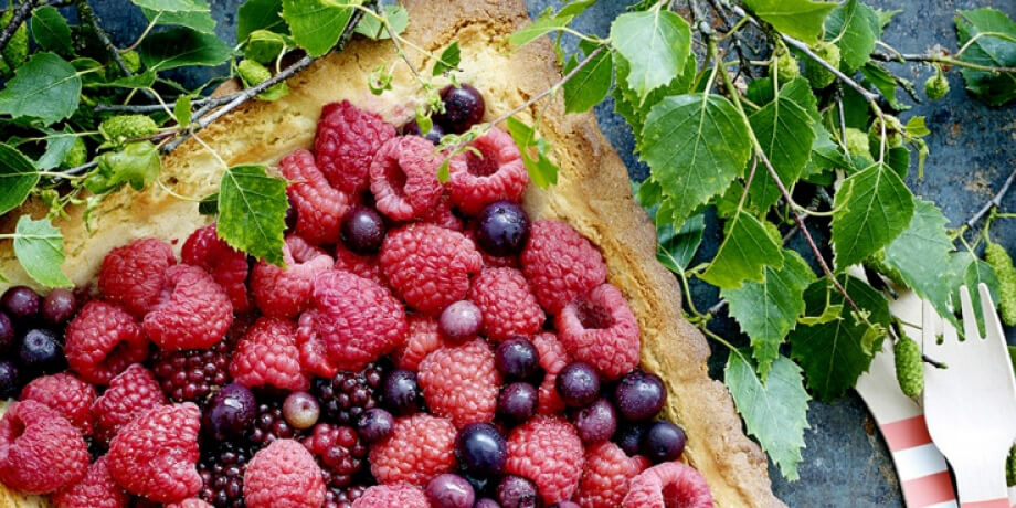 Tarte croquante aux fruits