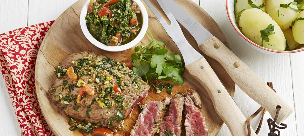 Chateaubriand met chimichurri-saus