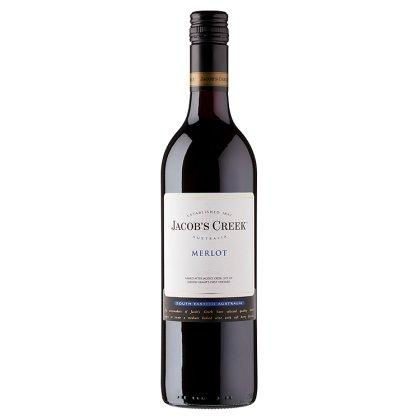Jacobs Creek merlot  - Australie - rouge