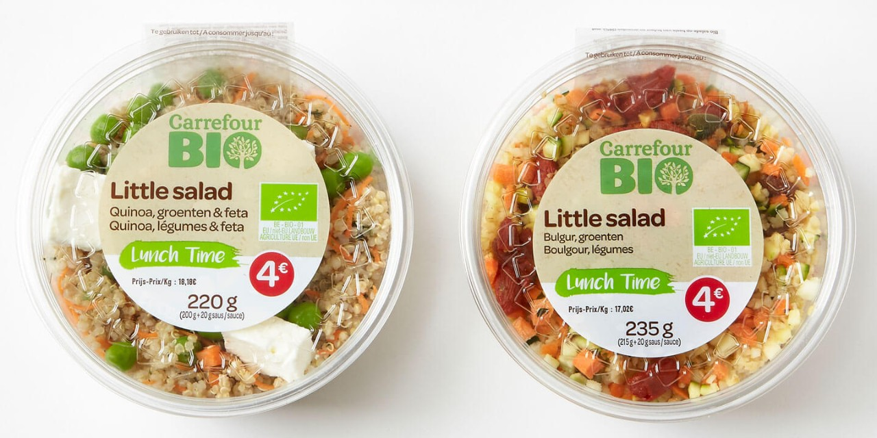 Petites salades Lunch Time Bio